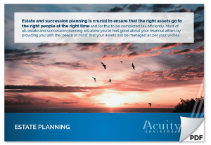 Acuity Advisers Perth - Estate Planning