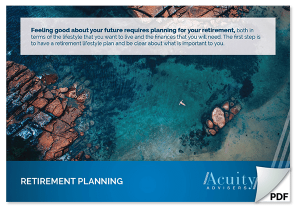 Financial Advisors Perth - Retirement Planning